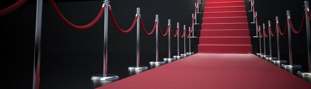 Red Carpet Welcome Stairs